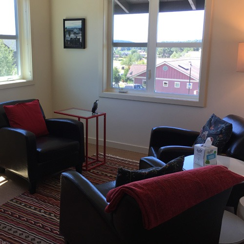therapist office in Bellingham WA, providing counseling services to couples and individuals