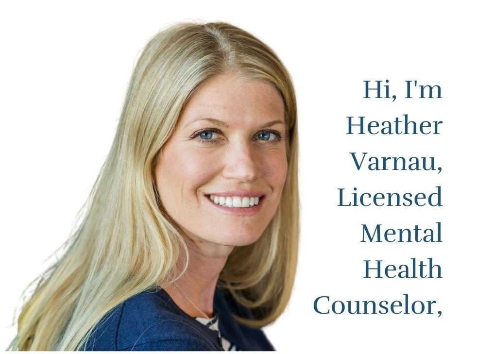 headshot of Heather Varnau, LMHC